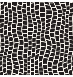 Seamless black and white distorted pavement vector