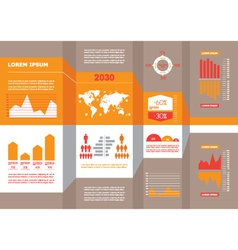 Detail business infographic vector