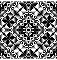 Contrast seamless pattern vector