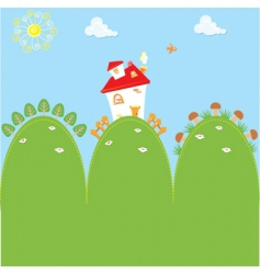 Cartoon home vector