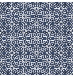 3d white seamless pattern in arabian style vector