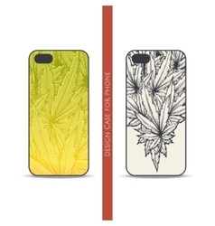 Design case for phone two vector
