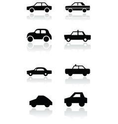 Car symbol set vector