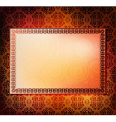 Ornamented frames vector