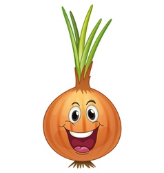 Onion vector image