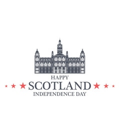 Independence day scotland vector