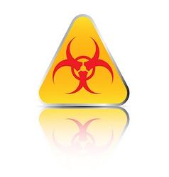 biohazard sign2 vector image vector image