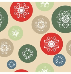 Color Snow Background vector image vector image