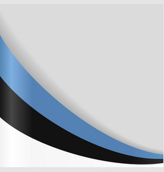 estonian flag background vector image vector image