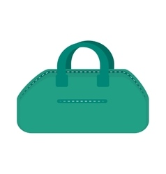 Gym bag accessory vector