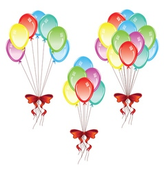 Bunch of balloons5 vector
