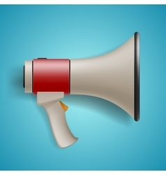 Megaphone for digital marketing concept vector