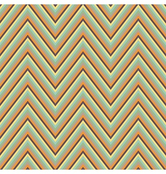 Abstract seamless retro zigzag ornament vector image