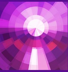 circle technics violet color abstract background vector image