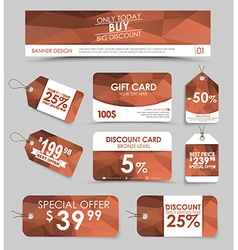 Corporate identity design for sale vector image vector image