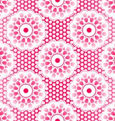 Lace pattern vector