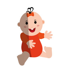 Baby icon image vector