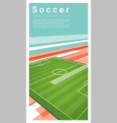 Football field graphic background 6 vector