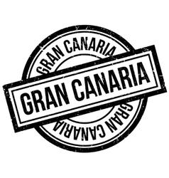 Gran canaria rubber stamp vector