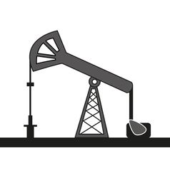 oil pump vector image