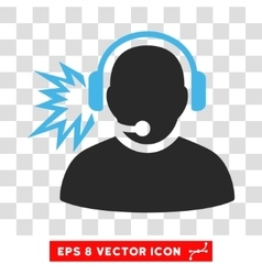 Operator message eps icon vector