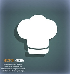 Chef hat sign icon cooking symbol cooks hat on the vector