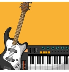 Colorful music icon design vector