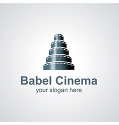 babel cinema vector image