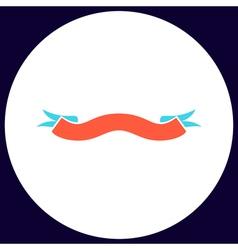 Banner computer symbol vector image vector image