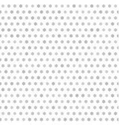 gray flower pattern seamless vector image