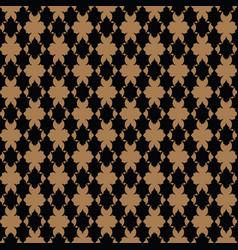 luxury pattern royal gold pattern vector image