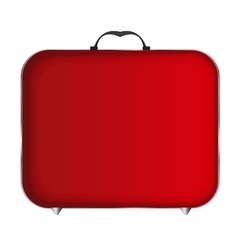 Red bag icon vector