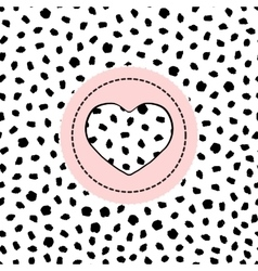 Seamless pattern spotted vector image