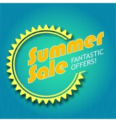 Summer sale vector