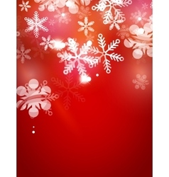 Holiday abstract background winter snowflakes vector