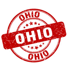 Ohio stamp vector