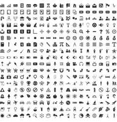 Web application icons vector