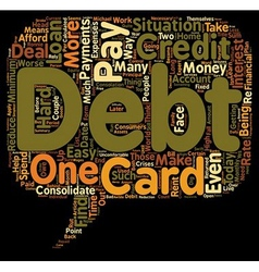 How to pay off debt text background wordcloud vector