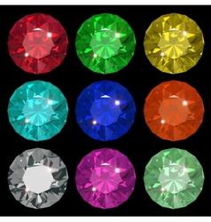 Jewel set vector image