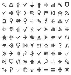 90 Web Icon vector image vector image