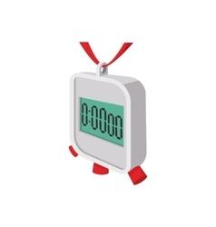 Stopwatch cartoon icon vector image
