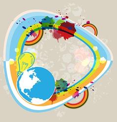 Art abstract concept design vector