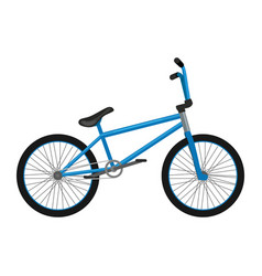 isolated electric bicycle for sport or urban city vector image