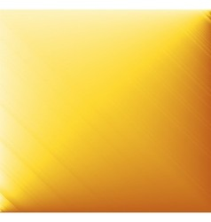 Yellow brushed metal background vector