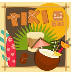 Tiki Bar vector image
