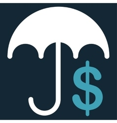 Financial care icon from commerce set vector