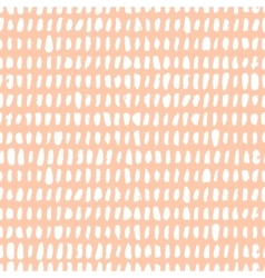 Seamless pattern with ink brush vector image