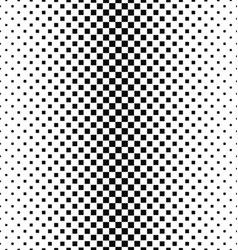 Black and white square pattern background design vector image