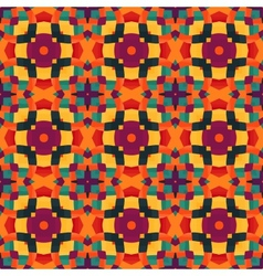 mosaic pattern background vector image vector image