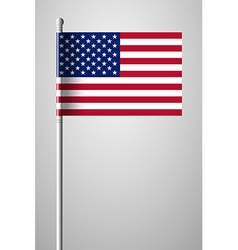 Flag of united states of america american flag vector